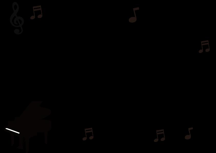 音楽のモノクロフレーム 音楽のモノクロフレーム 音楽のモノクロフレーム 季節の無料イラスト Co
