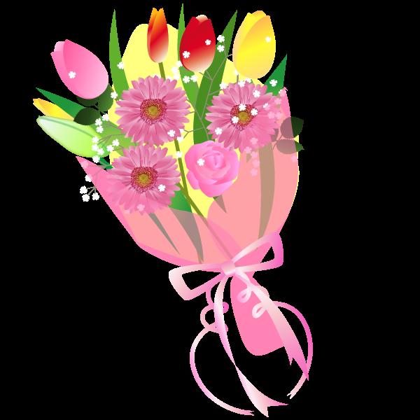 かわいい花のイラスト