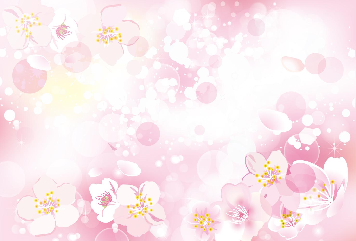 商用利用可能な春の背景無料おすすめイラスト素材