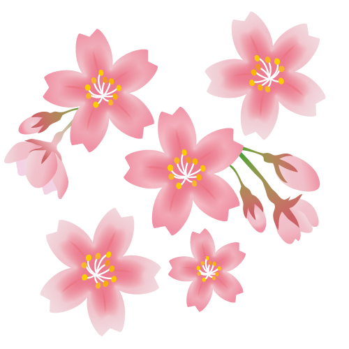 春におすすめの商用利用可能な無料イラスト素材
