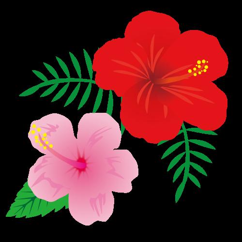 かわいいひまわりの花イラスト