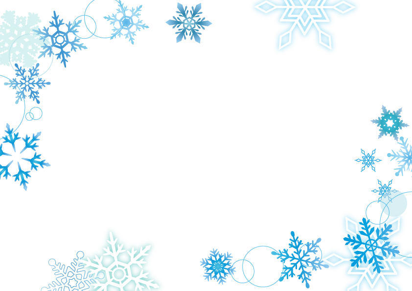 冬におすすめの商用利用可能な無料フレーム枠素材